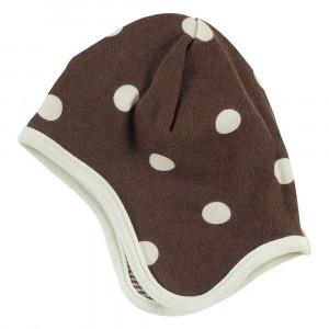 Organic Reversible brown bonnet