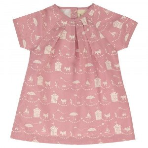 Organic Cotton PinkTunic Dress Age 3-6 Months