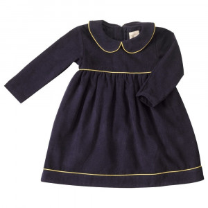 Navy Blue dress 1-2 Years by Pigeon Organics