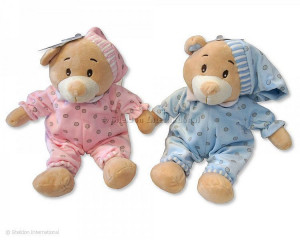 Teddy Bear in Pyjama - Pink