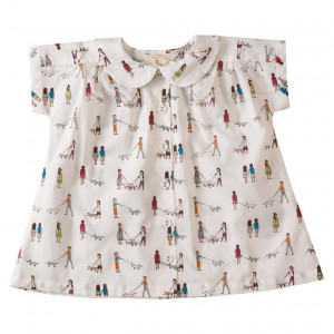 Pigeon Organic Cotton Blouse, 1-2 Years