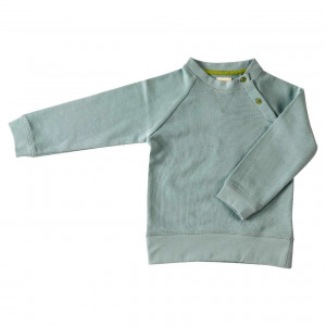Pigeon Organic Cotton, Blue Sweatshirt, 1-2 Years