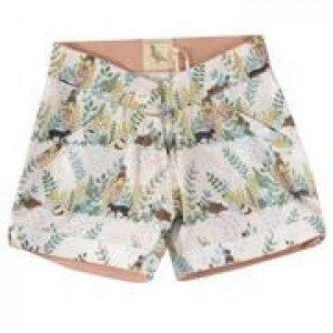 Organic Cotton Girls Shorts 4-5 Years