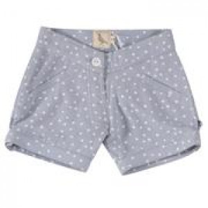 Organic Cotton Girls Shorts 3-4 Years