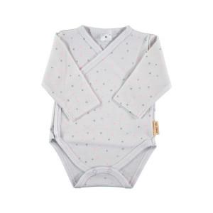 Short Sleeve Cotton Side Popper Bodysuit Age: New Born