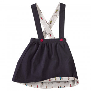 Pigeon Organic Skirt with Braces (reversible) 4-5 Years